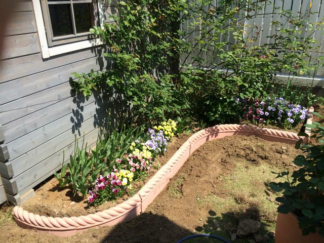 DIY初心者もOK!素人でもかんたんに作れる花壇