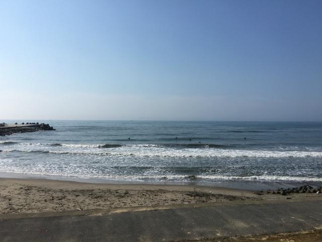 2回目のサーフィンは九十九里の今泉浜に行って来ました!