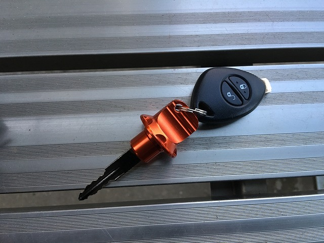 車のキー(鍵)をちょっとカスタムしてみました