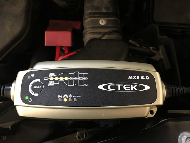 車用バッテリー充電器のおすすめは「 CTEK シーテック MXS5.0JP 」小型で扱いやすく、オプションも秀逸!!