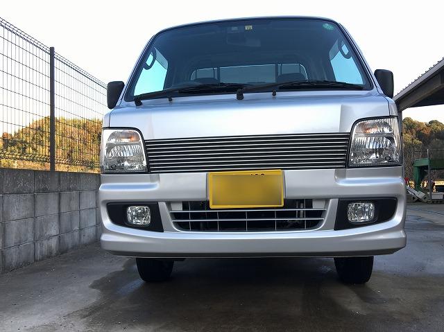 サンバートラック(TT2)に165/70R13のスタッドレスタイヤを装着