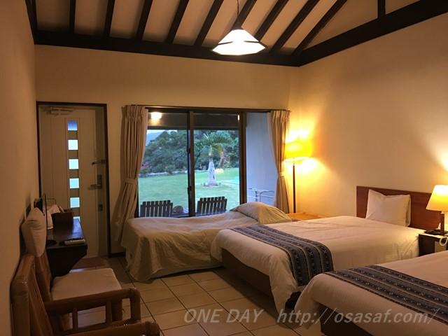 西表島上原港エリアのホテル ヴィラうなりざきの宿泊レビュー
