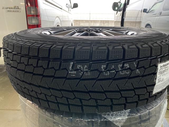 ハイエース(200系)のスタッドレスタイヤを購入!おすすめは車検もOK「ヨコハマiceGUARD(アイスガード)SUV G075 195/80R15 107/105L LT」で決まり!?