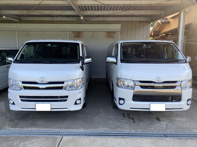 200系ハイエース5型ディーゼルを購入!3型ガソリン車と5型ディーゼル車に乗り比べてわかったこと