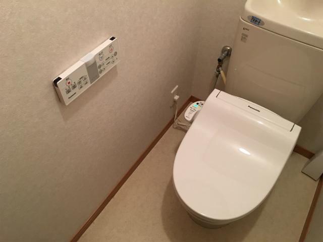 ウォシュレットの取付け(交換)は自分で出来る!パナソニック温水洗浄便座DL-WH20をDIYで取付け