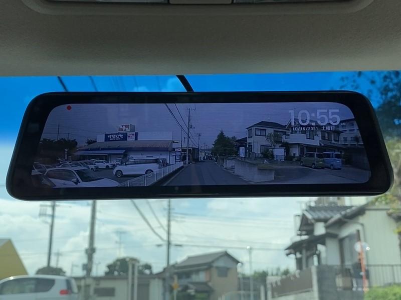 デリカD5(CV5W)デジタルインナーミラー(ドラレコ)を取り付け【AUTO-BOX V5 PRO】